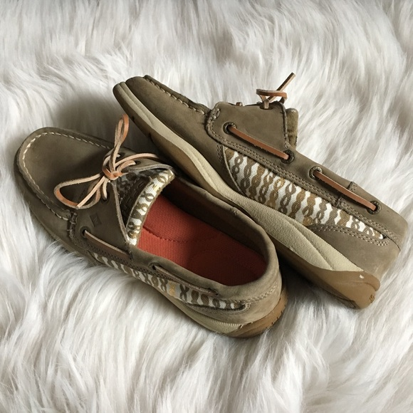Sperry Shoes - Sperry   Top-Sider Women's Gold + Tan 6.5 EUC